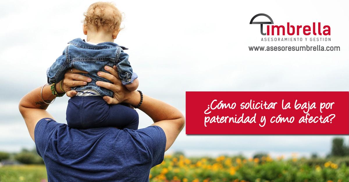 solicitar baja por paternidad