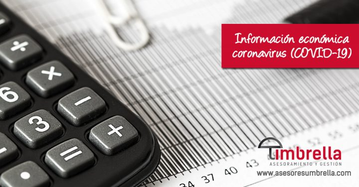 Información económica coronavirus (COVID-19)