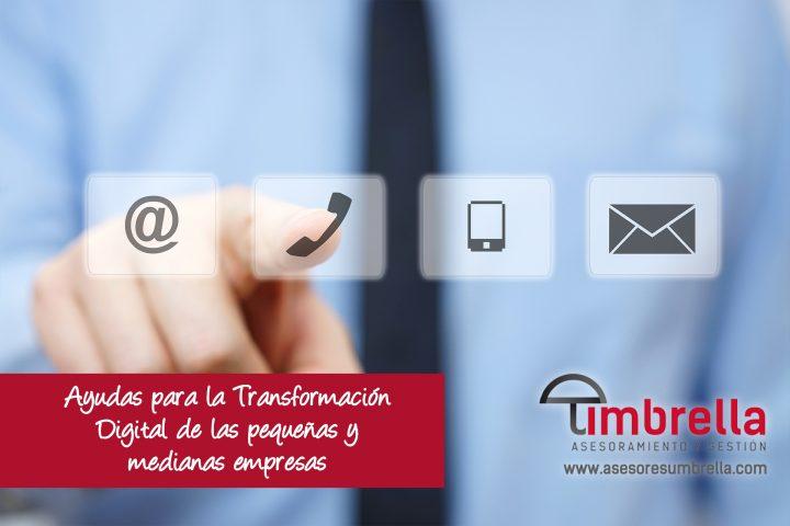 Ayudas para la Transformación Digital de las pequeñas y medianas empresas
