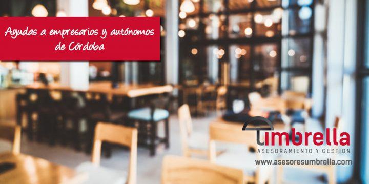 Ayudas a empresarios y autónomos de Córdoba