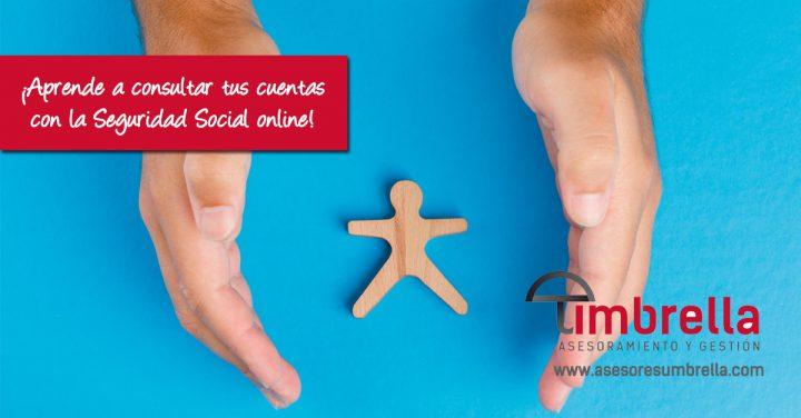 ¿Sabes que puedes consultar tus cuentas con la Seguridad Social online? ¡Te enseñamos!